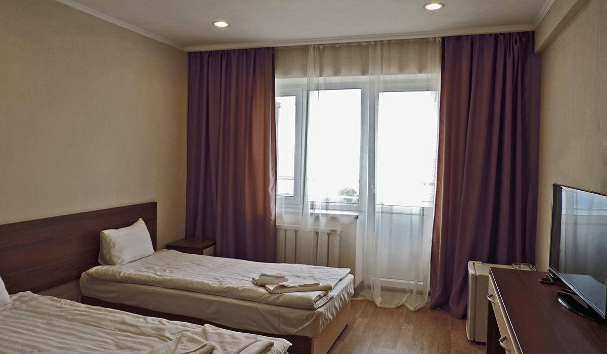 двухместный номер с балконом в отеле
