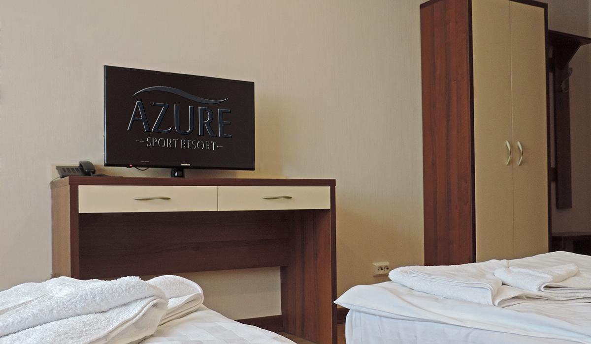 плоский телевизор в номере отеля